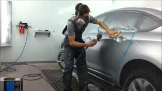 Opel astra h gtc покраска